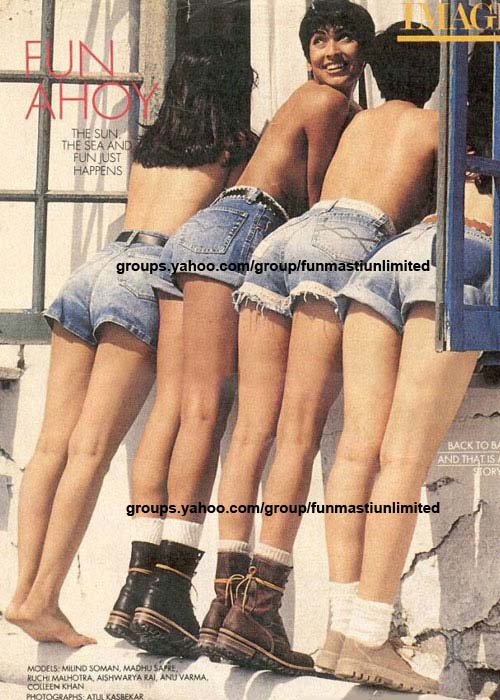 Aishwarya Rai Dressless During Model Days