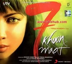 7 Khoon Maaf (2011) Hindi Movie Mp3 Songs Download stills photos cd covers posters wallpapers Priyanka Chopra, Neil Nitin Mukesh, John Abraham & Irrfan Khan