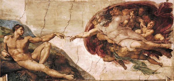 Touch+of+god+michelangelo