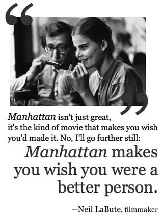 Manhattan - Movie Quotes - Rotten Tomatoes