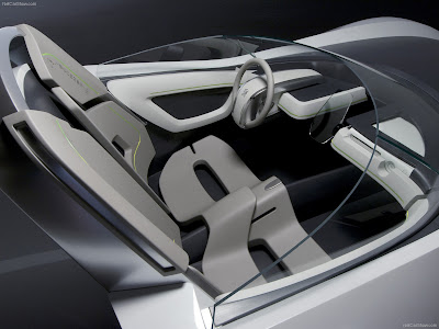 Peugeot Flux Concept. The car was designed to achieve universal pleasure by