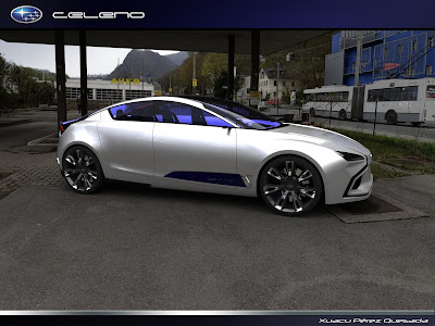 Subaru Celeno Concept Side