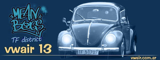 """só uma paixão ... vwair 13 - blog ... MeanBugs TF VW LowRider Society"""