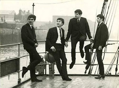 The Beatles at The Salvor by Peter Kaye