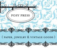 shop posy press