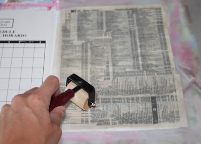 Making a Composition Book Art into a Journal 12 (Tutorial) via lilblueboo.com