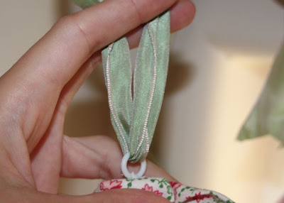 Hand-Sewn Ribbon-Top Curtain Tutorial ribbon via lilblueboo.com