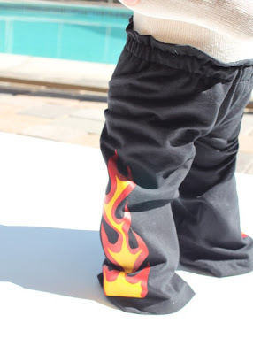 Flaming Pants tutorial step finished via lilblueboo.com
