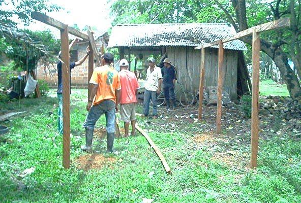 Blog de willians alfredo salom myers nos aprobaron 10 for Construccion de galpones