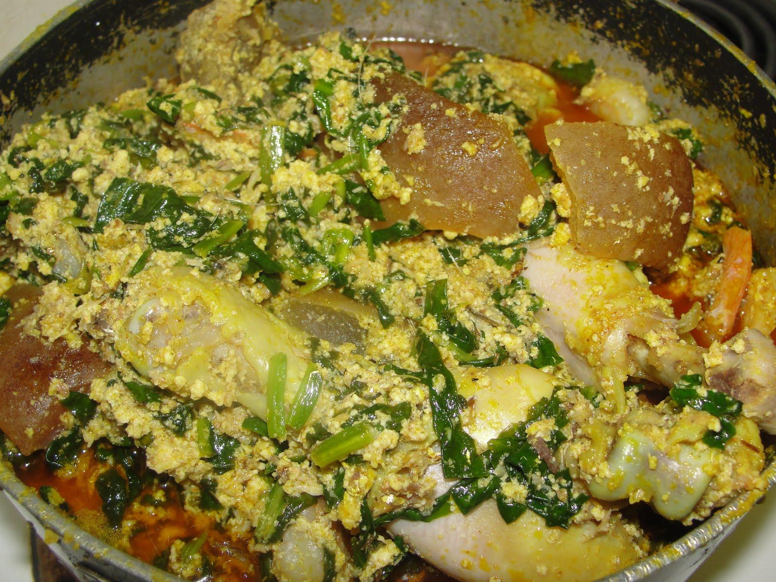 Modern african cuisine egusi a staple nigerian soup for African food cuisine
