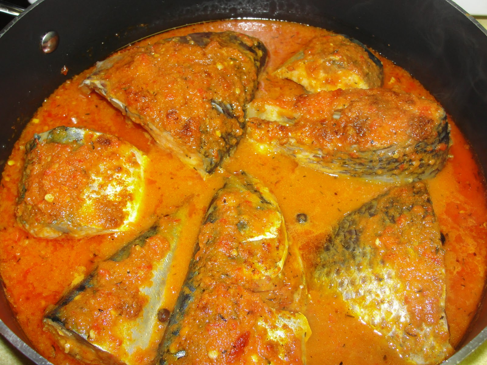 Modern african cuisine fish sauce for African fish recipes