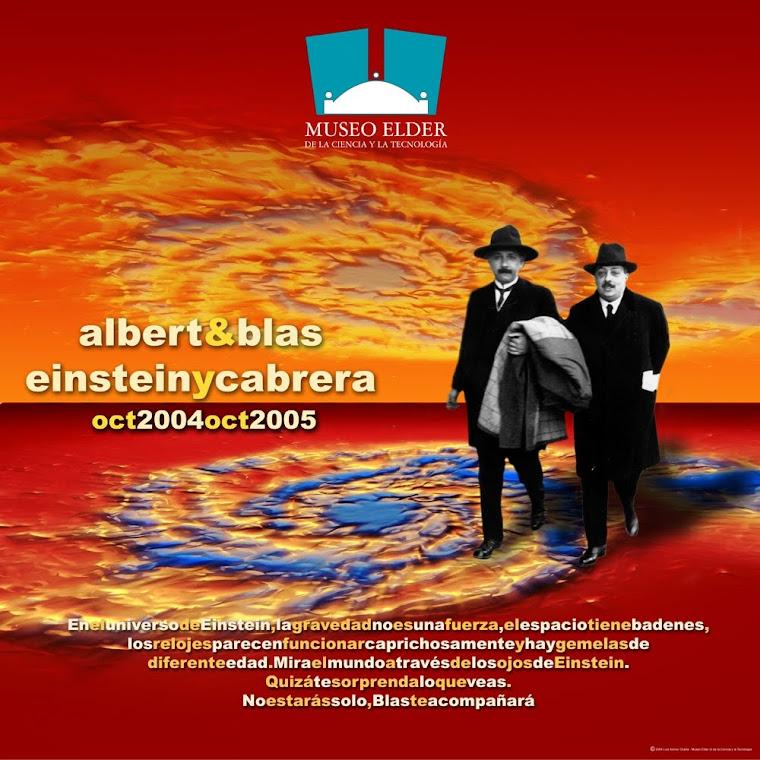 CARTEL ALBERT&BLAS EINSTEINYCABRERA
