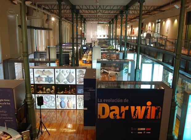 """EXPOSICIÓN """"La Evolución de DARWIN""""MUSEO NACIONAL DE CIENCIAS NATURALES"""