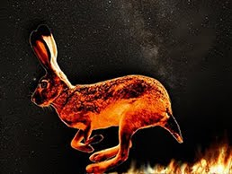 THE FLAMING PRAIRIE JACKRABBIT