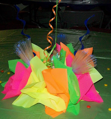Party people event decorating company 80 39 s flasback party for 80 s table decoration ideas