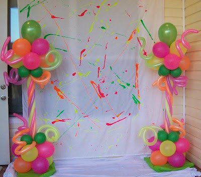 Party Decoration Green Balloons Accessories Ornaments - balloon