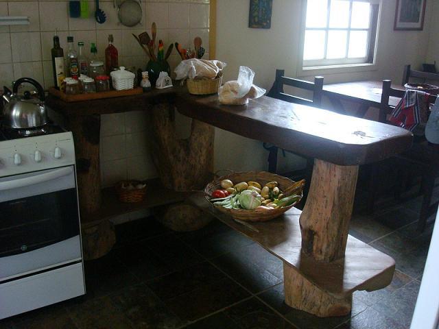Balcão de copa-cozinha