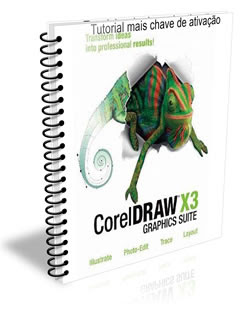 Tutorial de ativação mais chave de ativação do corel Draw X3(Pedido)