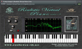 Realistic Virtual Piano 3