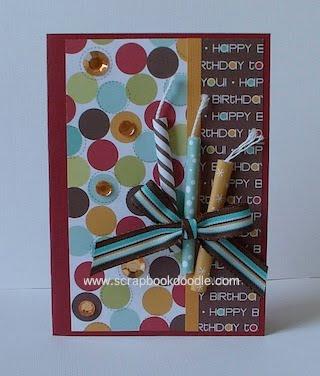 Scrapbook Doodle Blog Birthday Cards