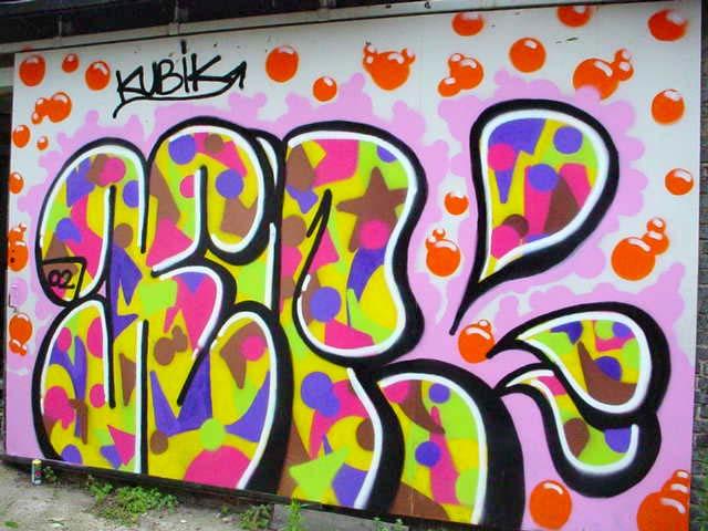 abecedario en graffiti. abecedario de graffiti.