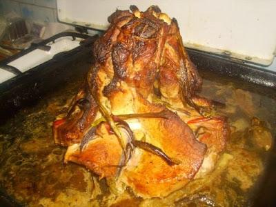 Articole culinare : Antricot de porc cu legume la cuptor, Mancaruri cu carne