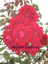 ROSAS DE ABUELA CREATIVA