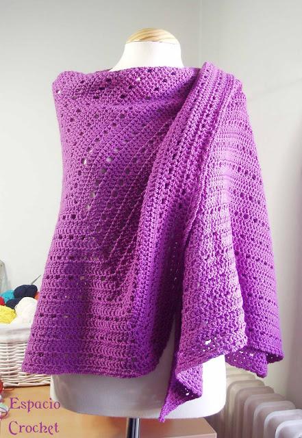 Toquilla de crochet / crochet shawl