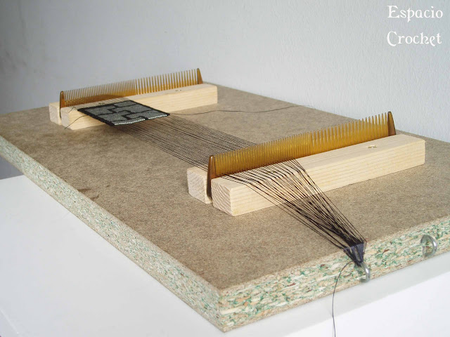 Telar indio casero / Homemade loom