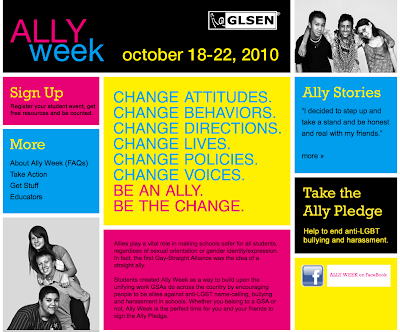 Next week (Oct 18-22, 2010) is
