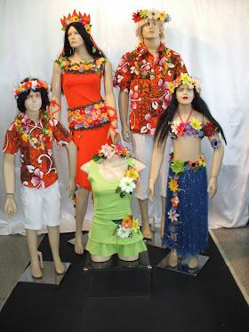 Família Típica Havaiana