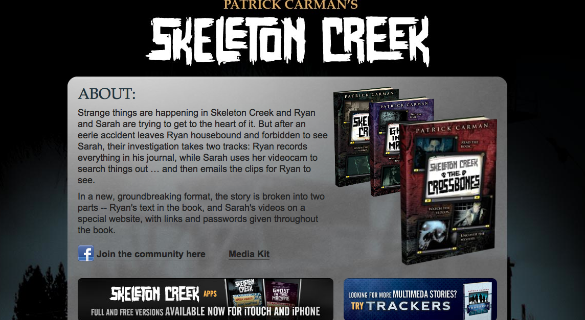 skeleton creek resume