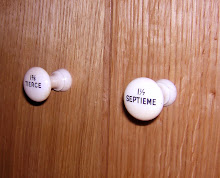 organ stops on a cupboard