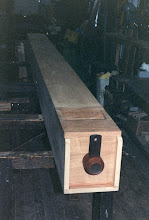 16ft mahogany pedal pipe for Chichester Cathedral