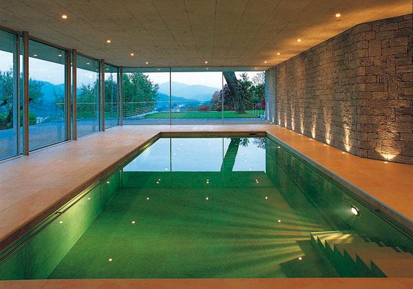 Il mio carnet di viaggio piscine da sogno - Piscina da interno ...