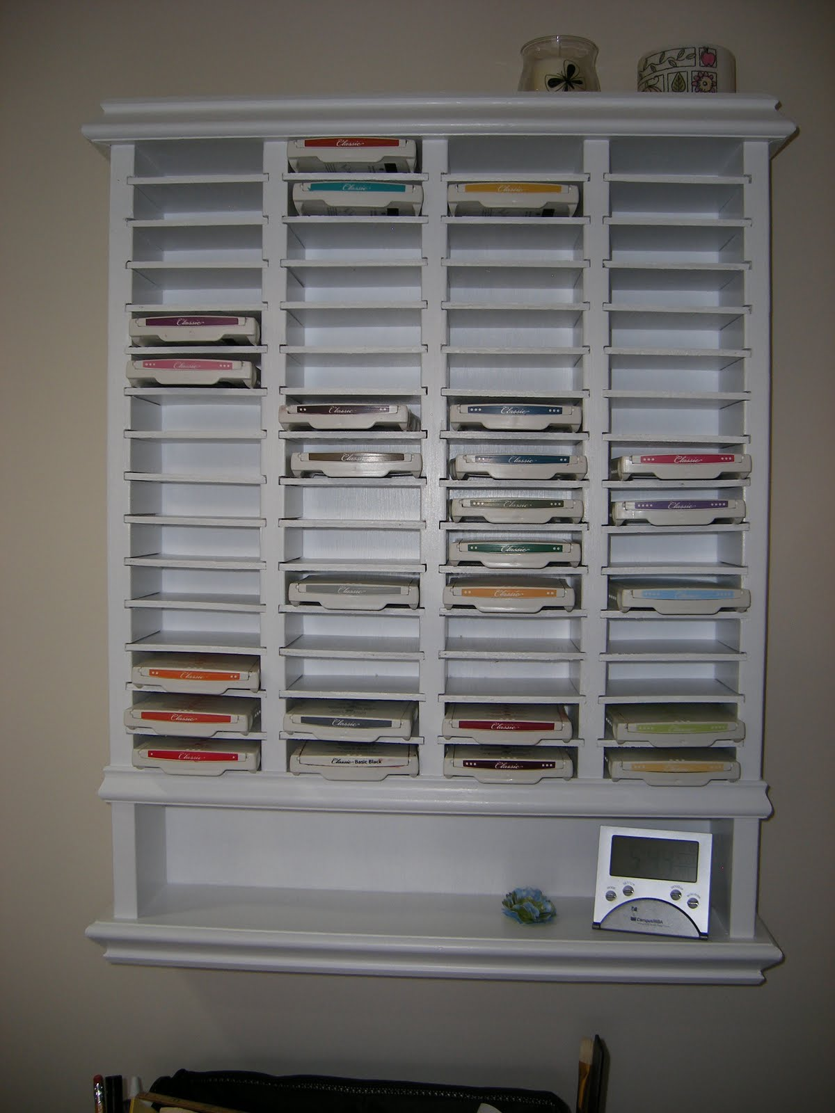 Did You Stamp Today Guest Blogger Learn How To Build Your Own Ink Pad Storage