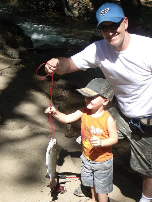 Kaden's 1st Fish 2008