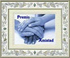 PREMIO de la AMISTAD