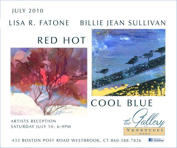 JULY IS RED HOT, COOL BLUE