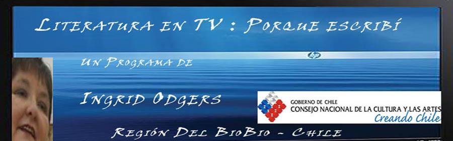 INGRID ODGERS PROGRAMA DE LITERATURA EN TELEVISIÓN