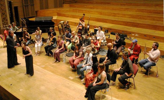 Classe d'improvisation du Conservatoire de Liège