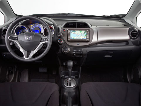 honda fit 2011 interior