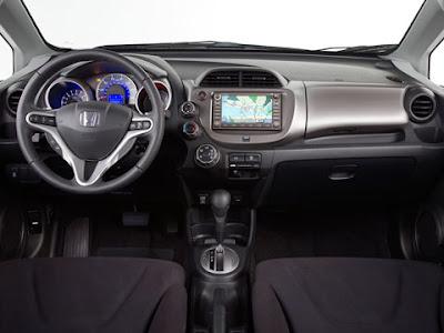 Honda jazz interior concept1 Honda Jazz at. Honda Fit