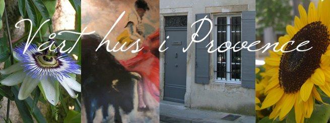 Vårt hus i Provence