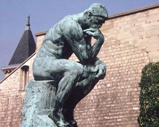 Скульптура родена мыслитель