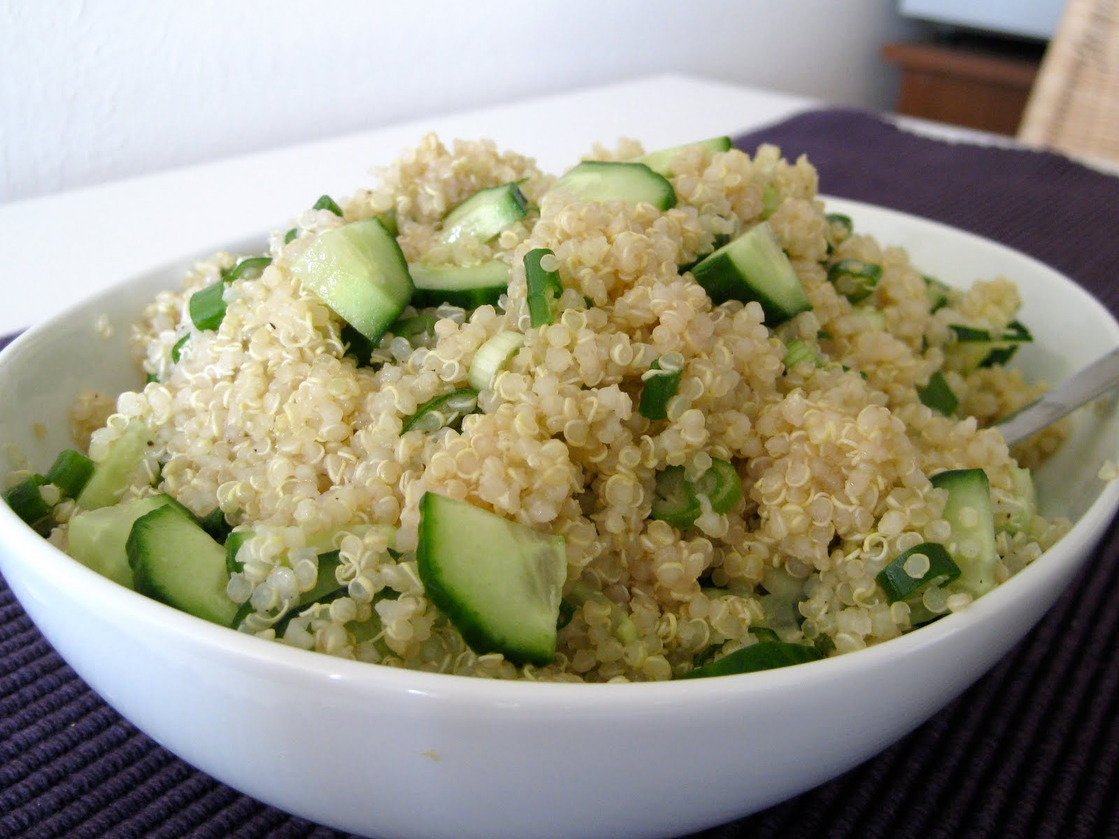 The Runner's Diet: Quick and Easy Quinoa Salad