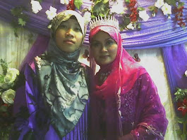 hanie wif kak ct  {cousin wedding}  me??? not yet... =)