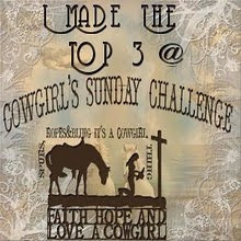 top 3 chez cowgirls sunday challenge