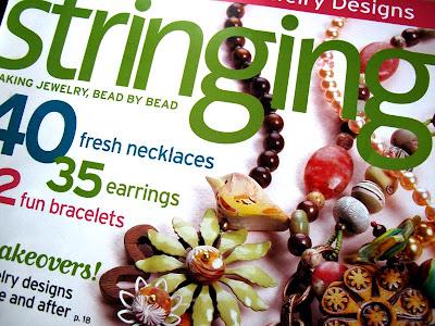 spring stringing magazine jewelry beading