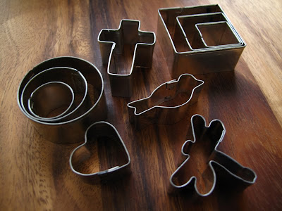 mini cookie cutters dragonfly heart cross